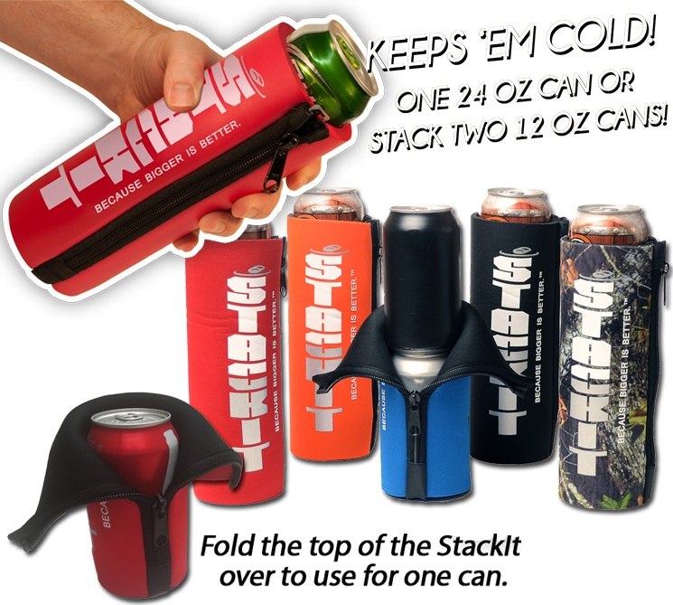 TWO CAN STACK IT CAN COOLER