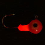 Red Illuminator Lighted fishing Jig