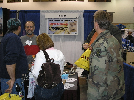 About us and waxworm mealworm breeder kits raise your for Mn ice fishing show