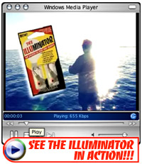 CLICK TO SEE THE ILLUMINATOR LIGHTED FISHING JIG IN ACTION CATCHING FISH